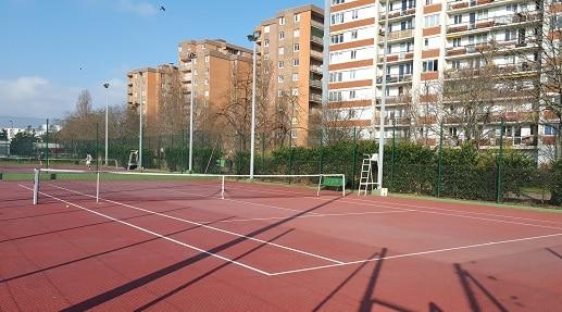 tennis champerret