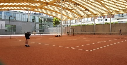 Tennis niox paris 16 for Cours de tennis en ligne