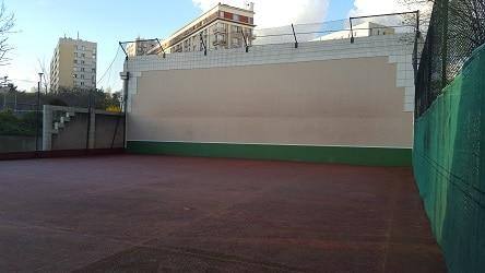 mur de tennis Moureu Baudricourt
