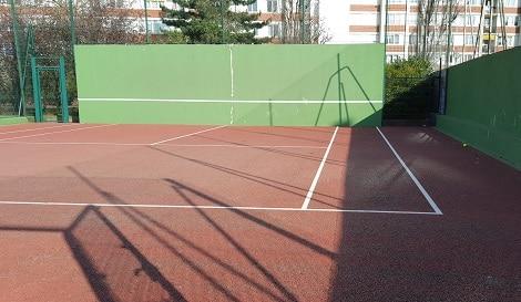 tennis mur reims