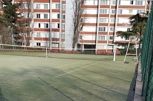 terrain moquette tennis paris 17
