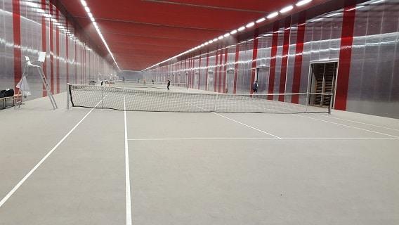 Tennis jules ladoum gue paris 19e for Longueur terrain de tennis
