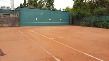 mur de tennis Vincennes