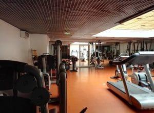 salle de muscu tennis
