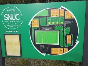 stade SNUC Tennis - Nantes