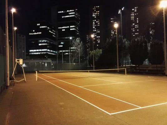 tennis paris 13e nuit