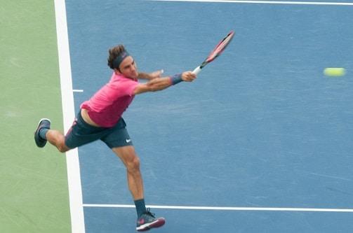 Federer coup droit