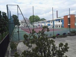 Tennis club la fontaine for Longueur terrain de tennis