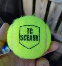 balle de tennis club