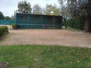 Cabourg mur de tennis