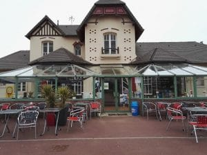 Tennis club house Cabourg