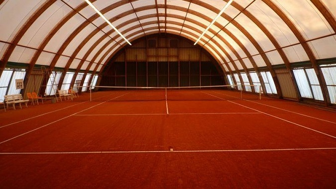 Tennis Albi court indoor