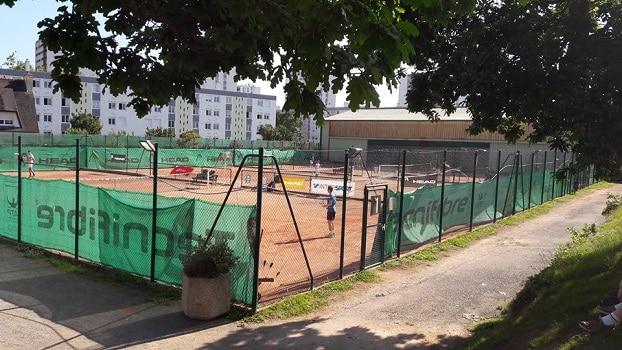 Les 3 clubs de tennis de Brest