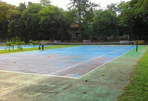 Clubs de tennis à Manille aux Philippines