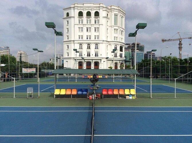 Tous les clubs de tennis de Hanoi